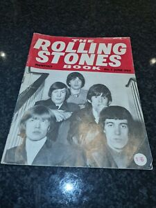 THE ROLLING STONES MONTHLY BOOK NO. 1 (JUNE 1964) vg condition