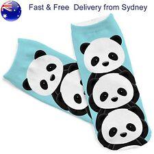 Panda stack socks - Cute China bear sock novelty Pandas Fun 3 Bear hug stockings