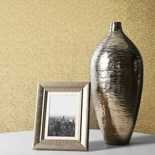 AMELIA TEXTURED METALLIC WALLPAPER ROLLS - GOLD - MURIVA 701433
