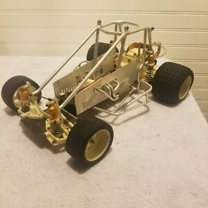 Vintage Big Boys Toys Ascot Sprint Car Rolling Chassis Very Rare RC10 AE Nice...