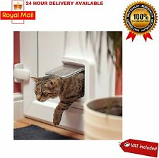 Sureflap Microchip Cat Flap Door Electronic Security Locking Collar Home Kitten