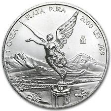 2000 1 oz Silver Mexican Libertad Coin - Brilliant Uncirculated - SKU #7076