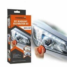 DIY Car Headlight Restoration Rim Damage Brightener Car Light Repair Tools Kits