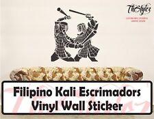 Filipino Kali Escrimadors Vinyl Wall Sticker