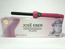 JOSE EBER Curling Hot Iron Wand 3/4 inch Pro Series PINK Ceramic Ionic SRP $300