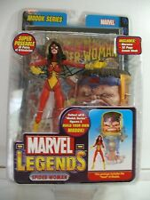 MARVEL LEGENDS SPIDER WOMEN MODOK SERIES W/ COMIC BOOK ~ NEW ~ MOC