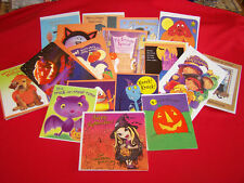 Lot 35 Assorted Halloween Greeting Cards All General & Envelopes New #2