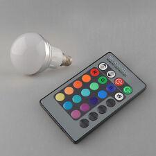 E14 3W RGB LED 16 Color colors Change Multi-Color Changing Light + Remote