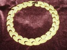 Gold Tone Necklace 17 Inches Excellent Beautiful Marked Park Lane