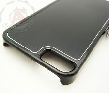 For iPhone 5 5S SE METAL Aluminum HARD Protector Case Snap On Phone Cover Black