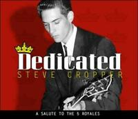 STEVE CROPPER - DEDICATED: A SALUTE TO THE 5 ROYALES [DIGIPAK] * NEW CD