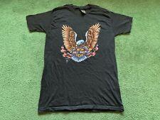 Vintage 1987 3D Emblem Harley Davidson Motorcycles Single Stitch T-Shirt L Nos