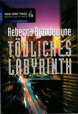 TODLICHES LABYRINTH Erotic Thriller by Rebecca Brandewyne - PB (c)1999 in GERMAN
