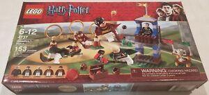 Lego 4737 Quidditch Match - Factory-Sealed - Madam Hooch, Flint, Wood, Potter