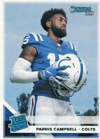 2019 DONRUSS RATED ROOKIE RC PARRIS CAMPBELL INDIANAPOLIS COLTS - B5916