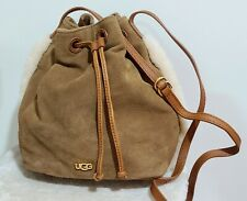UGG Suede Bucket Crossbody Bag