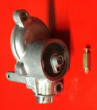 Vespa Carburettor Top Float Chamber Cover With 4.5mm Needle Valve PX125E, PX200E