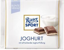 15 x RITTER SPORT JOGHURT CHOCOLATE - CANDIES FROM GERMANY - GERMAN FOOD !