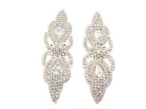 Beautiful Iron on Motif Hand Sewing on Bridal Dress Patch Clothes Appliques