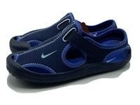 Nike Sunray Protect PS 903631-400 Blue Youth Kids Sandals Size 3Y Brand New!