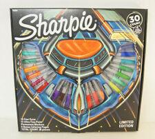 New Sharpie Limited Edition Market Set 30 Count +6 Bonus Coloring Pages NIB 2019