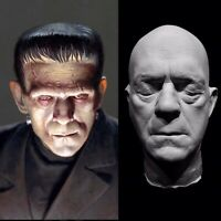 Boris Karloff Life Mask Cast/ Prop Frankenstein's Monster The Mummy Life Size!!!