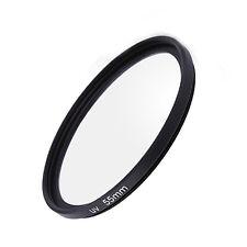 55mm UV Ultra-Violet Filter Lens Protector for Nikon Sony Canon Pentax Olympus