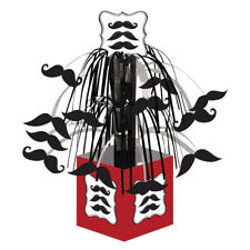 Moustache Madness Party Cascade Centrepiece Table Decoration Movember Baby