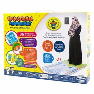 My Salah Mat - Interactive Prayer Mat - Teach Children How to Pray - Islamic