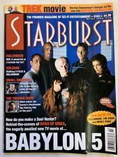 Starburst November 1998 Volume 21 No 3 Issue #243 Magazine Babylon 5