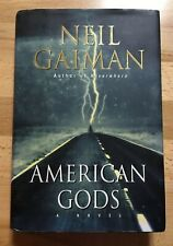 AMERICAN GODS  NEIL GAIMAN  1st/1st US edition..signed/inscribed by author