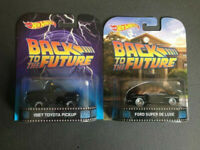 Toyota Pickup Marty McFly & Ford Super De Luxe Biff Back to the Future neu 1:64