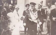 R1670 Royalty, Tsar Ferdinand I of Bulgaria wedding Boris vintage photo postcard