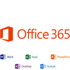 Microsoft Office 365 - 5 Users - Lifetime License - For Windows, Mac & Mobile!