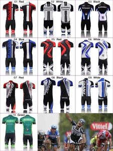 2019 Mens Cycling Jersey Set Kit Outfits Bike Bicycle Team Clothing Shirt Shorts