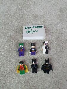 2006 DC Comics Lego Batman 4493780 and 4493781 Minifigure Magnets