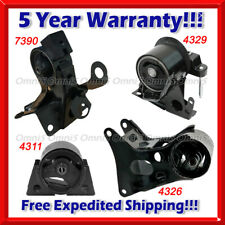 M796 Fits 2002-2006 Nissan Sentra 2.5L MANUAL Engine Motor & Trans Mount Set 4pc