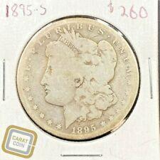 1895-S $1 Morgan Silver Dollar Good Super Key Date Coin San Francisco Mint