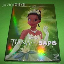 TIANA Y EL SAPO CLASICO DISNEY NUMERO 51 DVD NUEVO Y PRECINTADO SLIPCOVER