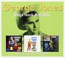 GEORGE JONES - SINGS HANK & BOB 2 CD NEW+