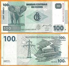 Congo DR, 2007, UNC, 100 Francs, P- 98