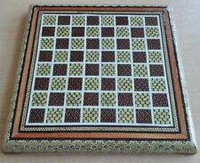 Persian Miniature Khatam Inlaid Handmade Marquetry Chess Board تخته شطرنج خاتم