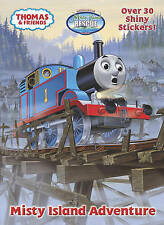 Misty Island Adventure (Thomas & Friends) (Hologramatic Sticker Book)-ExLibrary