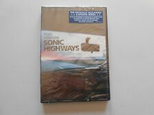 Foo Fighters Sonic Highways DVD New Sealed Package Extended Footage