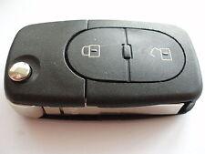 Audi A3 A4 A6 2 botón remoto Flip Llavero - 4d0 837 231