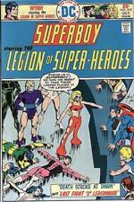 SUPERBOY #212 VG/F, LEGION OF SUPER-HEROES, DC Comics 1975 Stock Photo