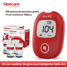 Sinocare 50 kit AQ Voice Blood glucose Monitor/meter test STRIPS diabetic es