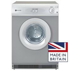 White Knight C44A7S 7kg Silver Vented Dryer with Timer & Reverse action