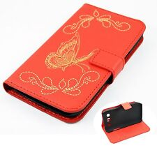 Card Holder Leather Pocket Hard Cover Case For Samsung Galaxy Win i8550 i8552