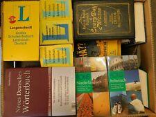 51 Wörterbücher verschiedene Sprachen